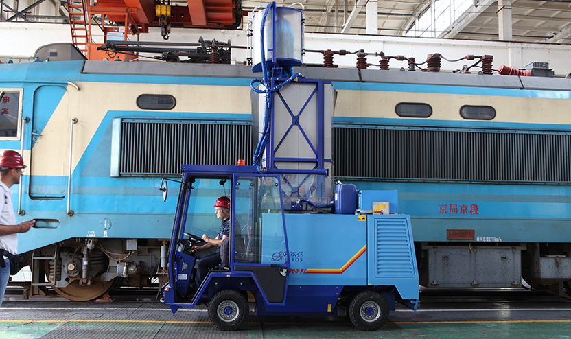 Mobile Cleaning Machine for Vehicles
