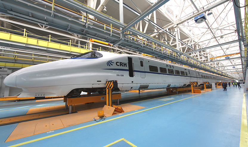 Under-floor Synchronous Lifting Jack for High-speed EMU Trai